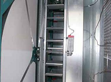 AHRI-Certified™ enthalpy wheel