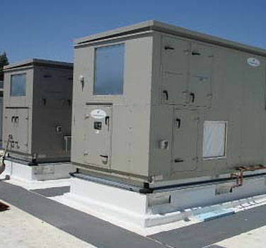 rooftop air handlers