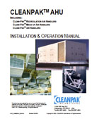 CLEANPAK® Air Handling Units Model DC-EB Installation and Operation Manual