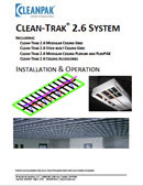 Clean-Track® Installation and Operation Manual