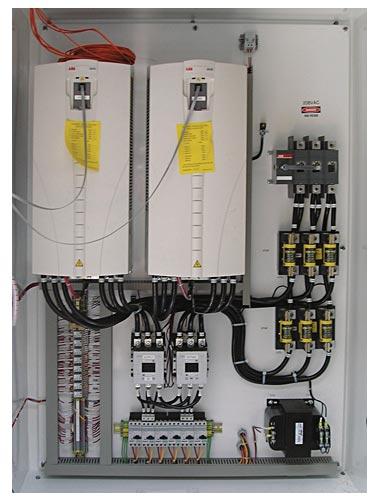 Unit control panel