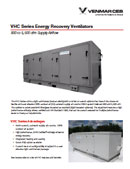 Energy Recovery Ventilator with Integrated Heating & Cooling Brochure