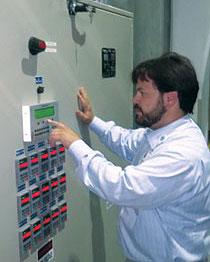 Airflow monitoring panel