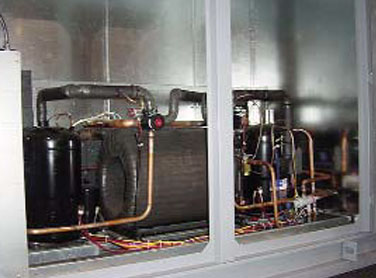 ground-coupled heat pump